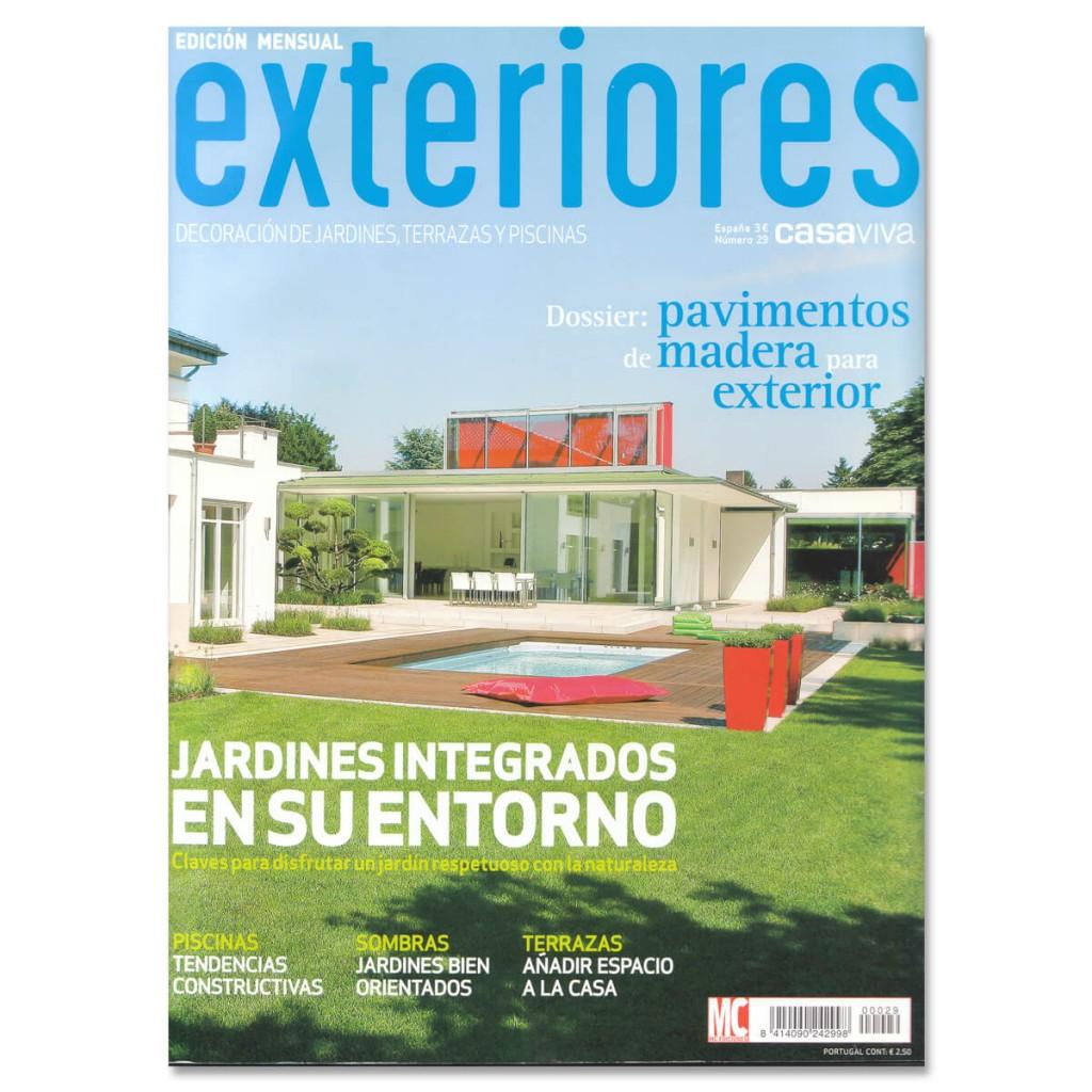 Revista Exteriores, vivienda CQ | GE Interiorismo