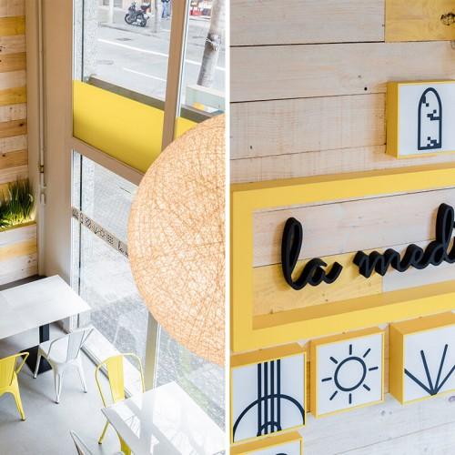 La Medi Restaurante| GE INTERIORISMO Barcelona