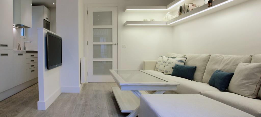 Apartamento sitges ge interiorismo - Apartamentos mediterraneo sitges ...