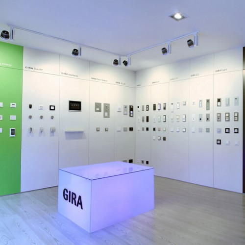 Gira showroom| GE Interiorismo