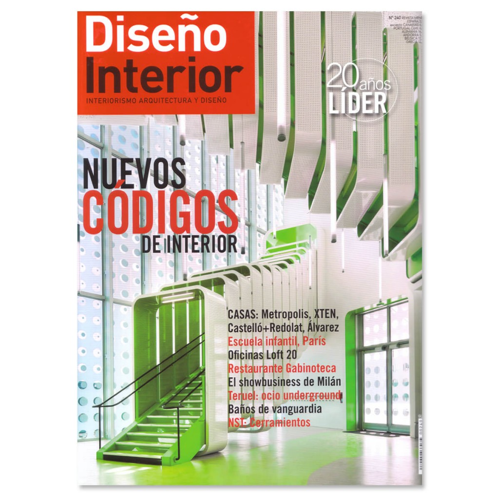 Revista Diseño Interior, Inauguración Showroom GIRA | GE Interiorismo