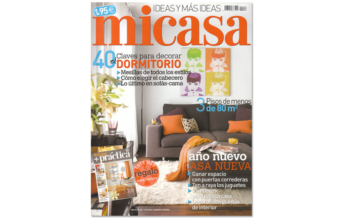 Revista Mi Casa, Red| GE Interiorismo