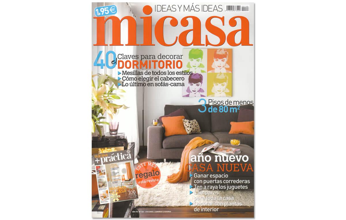 Revista Mi Casa, Red| GE Interiorismo
